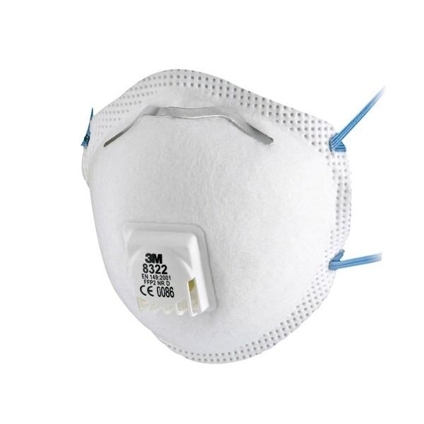 masque de protection 3m 8322 protection respiratoire. Black Bedroom Furniture Sets. Home Design Ideas