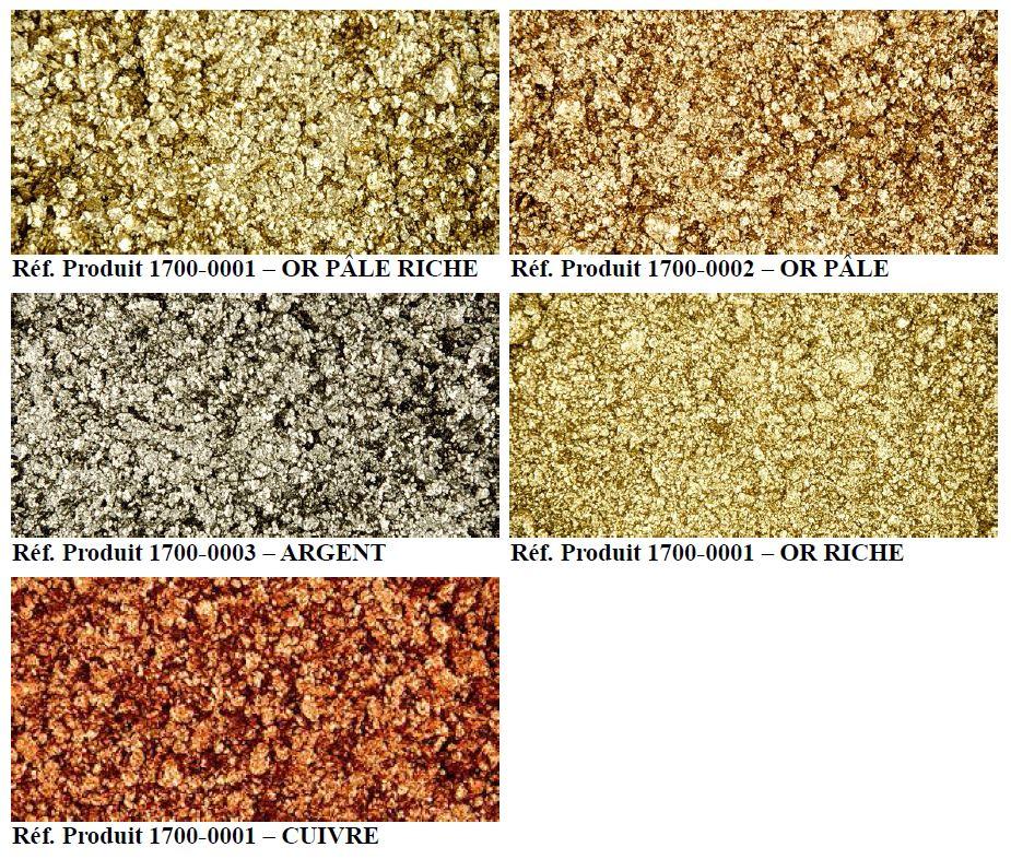 Pâtes de bronze humidifiées de Schmincke   couleurs bronzes à l'huile
