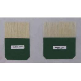 Palette à Dorer de poils blancs de Kolibri - 50 mm