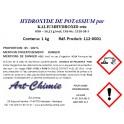 Hydroxyde de potassium pur (KOH) min. 85 %