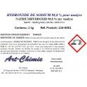 Hydroxyde de sodium pour analyse (NaOH) min. 98,8 %