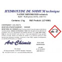 Hydroxyde de sodium technique (NaOH) min. 99,3% - Soude caustique