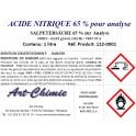 Acide nitrique pour analyse (HNO3) à 65%