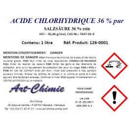 Acide chlorhydrique - pur (HCl) min. 36%