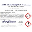 Acide chlorhydrique technique (HCl) 33-35%