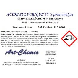 Acide sulfurique - pour analyse ( H2SO4 ) min. 95%