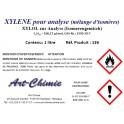 Xylène - pour analyse (C8H10) - mélange d'isomères