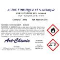 Acide formique technique (CH2O2) min. 85 %