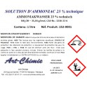 Solution aqueuse d'ammoniac technique (NH4OH) 23%