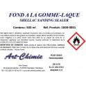 Fond dur gomme laque -– Schellac sanding sealer