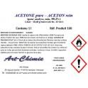 Acétone pure pour analyse (C3H6O) min. 99,5%