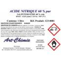 Acide nitrique pur (HNO3) à 60%