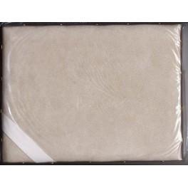 Le coussin à dorer en cuir 20 x 26 cm